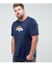 KTZ - Blue Plus Nfl Denver Broncos T-shirt In Navy for Men - Lyst