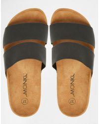 Monki - Brown Liza Sandal - Lyst