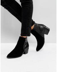 Dune | Black Pilar Ankle Boots | Lyst