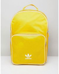 0e370082c2 adidas Originals Adicolor Backpack In Yellow Cw0634 in Yellow for ...