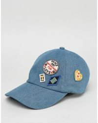 Tommy Hilfiger - Blue Tommyxgigi Cap With Patches - Lyst