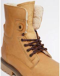 Wrangler - Brown Aviator Boots for Men - Lyst