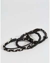 Icon Brand | Black Mele Bracelet Pack for Men | Lyst