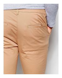 ASOS - Brown Extreme Super Skinny Chinos In Soft Tan for Men - Lyst