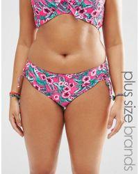 Marie Meili | Pink Gwendolen Plus Size Bikini Bottoms | Lyst