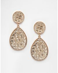 ALDO | Metallic Ldo Gold Brerrama Earrings | Lyst