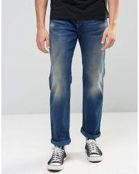G-Star RAW | Blue 3301 Loose Jeans Medium Aged for Men | Lyst