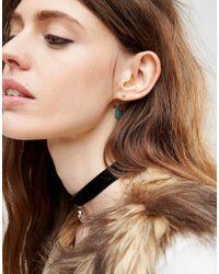 ASOS - Multicolor Hoop Stud & Ear Cuff Earrings Pack - Lyst