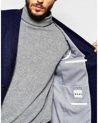 Noak | Blue Textured Navy Tweed Blazer In Super Skinny Fit for Men | Lyst
