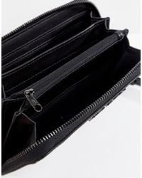 Armani Exchange - Black Patent Purse - Lyst