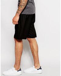 ASOS - Slim Shorts In Black for Men - Lyst