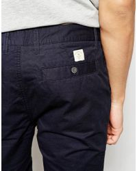 Bellfield - Black Chino Shorts for Men - Lyst