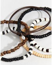 Classics 77 - Black Tango Beaded Bracelet Pack for Men - Lyst