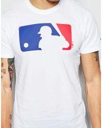 KTZ - White T-shirt With Batter Logo for Men - Lyst