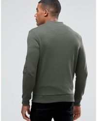 Good For Nothing Green Jersey Bomber Jacket for men