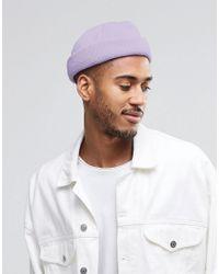 ASOS - Purple Mini Fisherman In Lilac for Men - Lyst