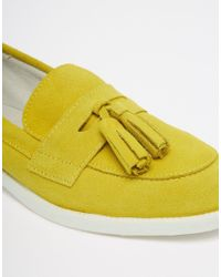 ASOS - Green Memory Lane Suede Loafers - Lyst