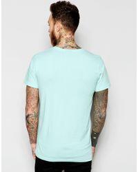 Dr. Denim - Blue Patrick Lightweight T-shirt Light Mint for Men - Lyst