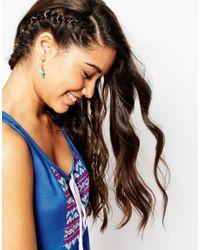 ASOS - Blue Limited Edition Mini Filigree Tassel Earrings - Lyst