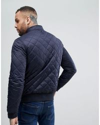 Barbour - Blue Moss Quilted Jacket In Navy for Men - Lyst