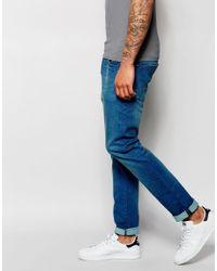 Scotch & Soda - Blue Slim Jeans In Summer Spirit Wash for Men - Lyst