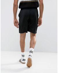 Kappa Black Drawstring Shorts for men