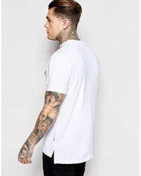 Ellesse - Multicolor T-shirt With Shoulder Piping for Men - Lyst