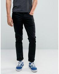 Nudie Jeans | Nudie Grimtim Slim Jeans Dry Cold Black for Men | Lyst