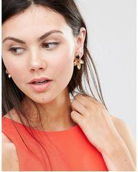 Krystal - Multicolor Swarovski Crystal Cluster Earrings - Lyst