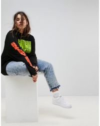 PUMA - Exclusive To Asos Plus Long Sleeve T-shirt In Black - Lyst