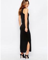 Vero Moda - Black Maxi Dress - Lyst