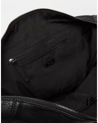 ALDO - Black Large Tote Bag With Front Buckle Detail - Lyst