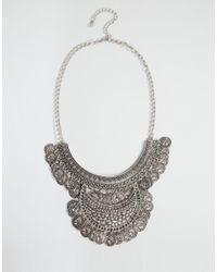 Nylon | Metallic Statement Coin Necklace | Lyst