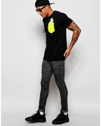 Cheats & Thieves - Black Pocket T-shirt Money Bags for Men - Lyst