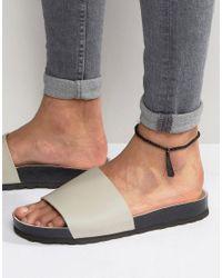 ASOS - Anklet With Tassle In Black - Black for Men - Lyst