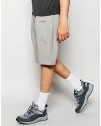 Illusive London - Gray Shorts for Men - Lyst