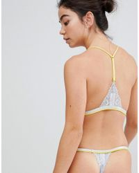 Free People - Metallic Under The Sun Thong - Lyst