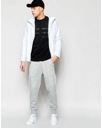 Izzue - Black Sweatshirt With Slogan for Men - Lyst
