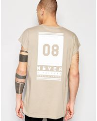 ASOS - Multicolor Oversized Sleeveless T-shirt With Number Back Print In Black for Men - Lyst