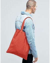 ASOS - Tote In Rust - White for Men - Lyst