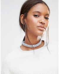 Wool And The Gang - Gray Wool & The Gang Diy Mixi Macrame Choker Necklace Kit - Lyst