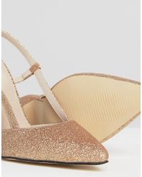 True Decadence - Multicolor Cut Out Sling Heeled Shoes - Lyst