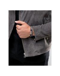 DIESEL   Multicolor Alucy Double Wrap Braided Bracelet for Men   Lyst