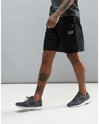 Skechers - Black Gym Training Shorts for Men - Lyst