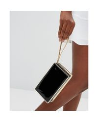 Lavand | Black Box Clutch Bag | Lyst