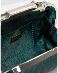 Lavand - Green Box Clutch Bag - Lyst
