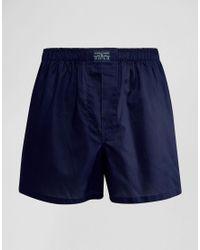 Polo Ralph Lauren | Blue Woven Boxers for Men | Lyst