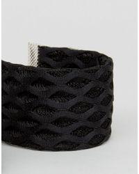 ASOS - Black Pack Of 2 Net Wristbands - Lyst