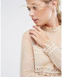 ASOS | Multicolor Wedding Pearl Bracelet | Lyst