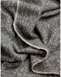 ASOS - Blanket Scarf In Black Twist for Men - Lyst